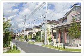 戸建住宅の場合イメージ